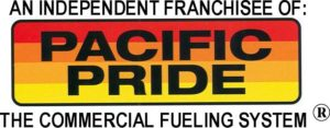An Independent Franchisee of: Pacific Pride - The Commercial Fueling System